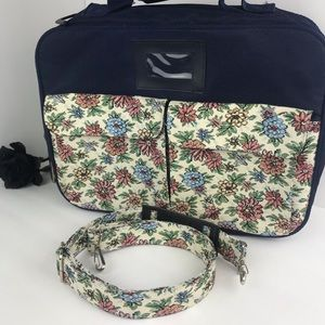 Small Floral Tapestry Suitcase